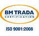 BM TRADA ISO 9001-2008