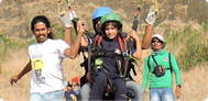 Don Bosco International School Goes Paragliding