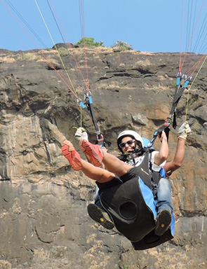 tandem flight at kamshet