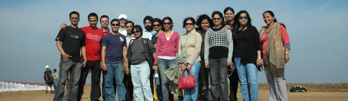 corporate team at flynirvana