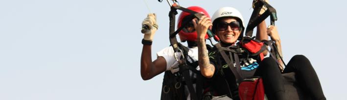 sapna tandem paragliding