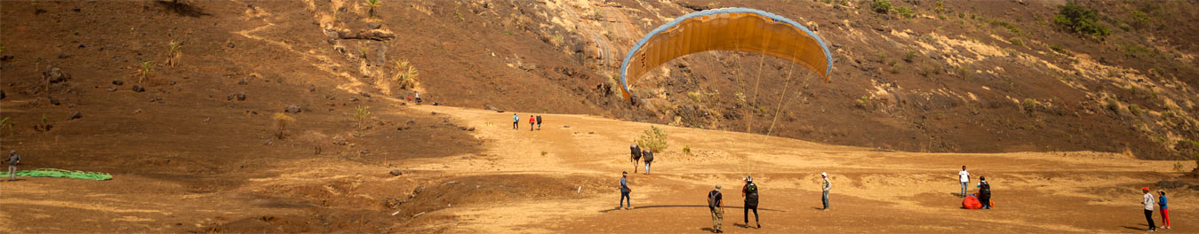 shelar paragaliding site in india